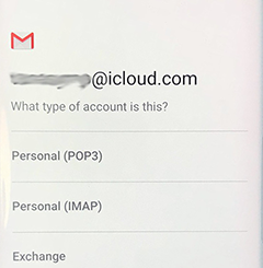 iCloud on Android