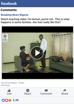 Facebook videos on mobile without any software