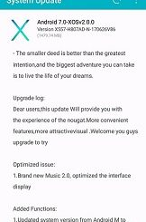 Infinix Hot 4 Nougat Update