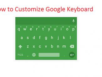 customize Google keyboard