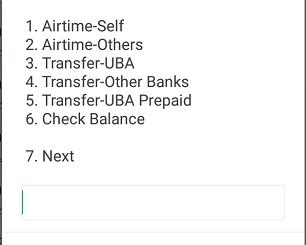 Money Transfer Code for UBA transfer code