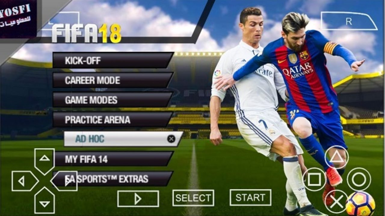 Download FIFA 2018 PPSSPP ISO English (FIFA 18 PPSSPP) for