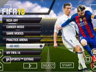 FIFA 2018 PPSSPP ISO download