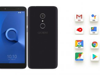 Alcatel 1X first Android Go phone