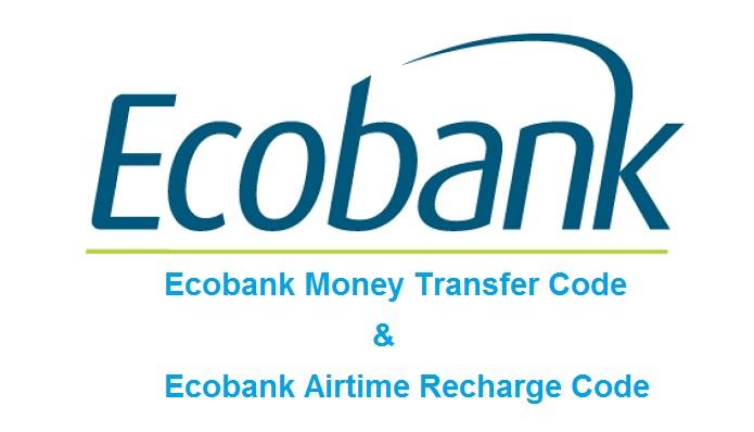 Ecobank Money Transfer Code