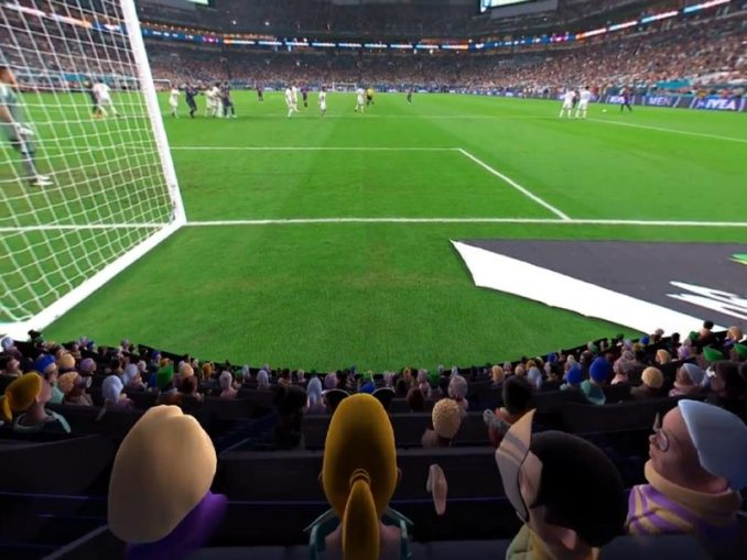 Watch World Cup 2018 in Virtual Reality (VR)