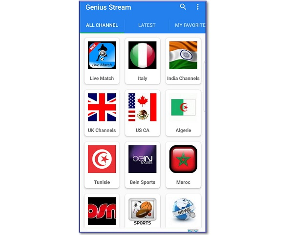 best free live TV app for Android APK