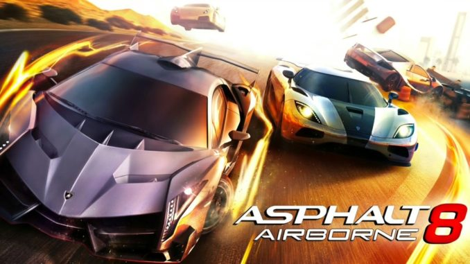 Asphalt 8 Mod APK Free download game