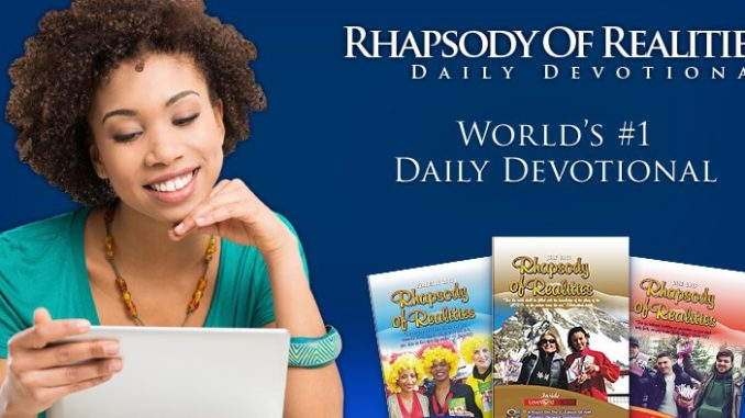 Download Rhapsody of Realities PDF August 2018