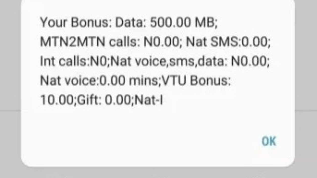 How to Get Free 500MB data from MTN