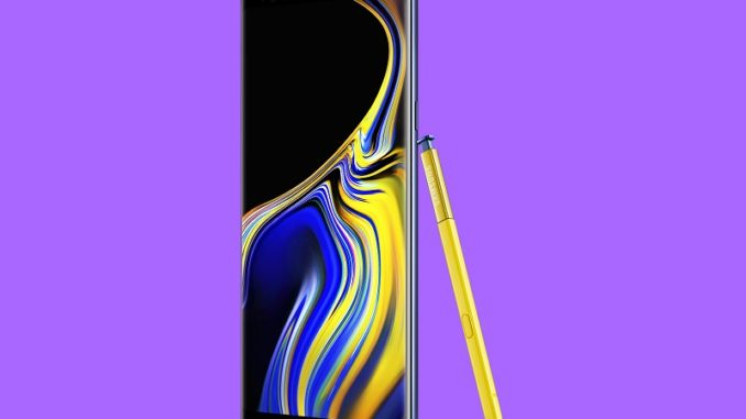 Samsung Galaxy Note 9 price specs