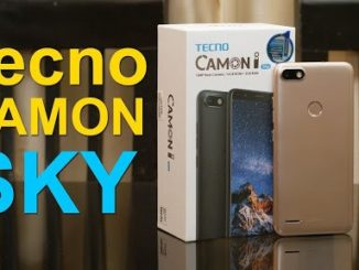Tecno Camon i Sky price and specs