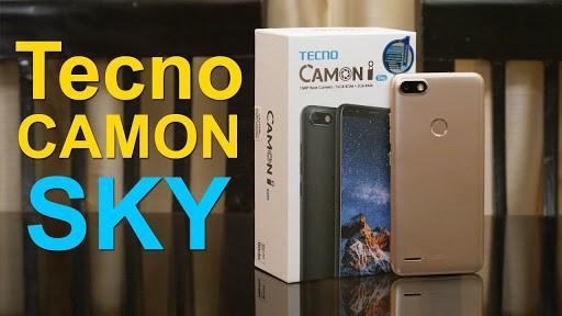 Tecno Camon i Sky price and specs