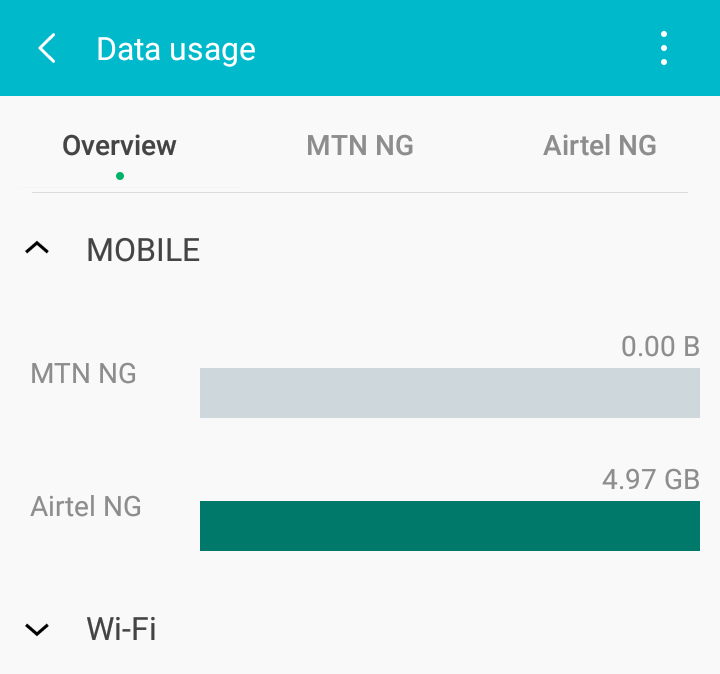restrict background data android